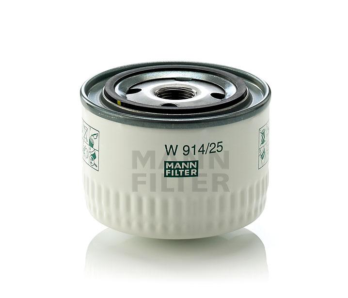 Filtr oleju przekładnia hydrauliczna/przekładnia automatyczna W 914/25