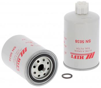 Filtr paliwa  KOMATSU D 61 EX 12