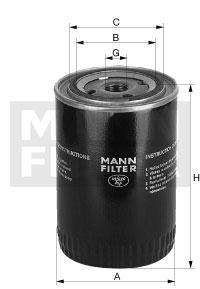 Filtr oleju W940/67