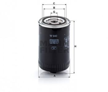 Filtr oleju przekładnia hydrauliczna/przekładnia automatyczna