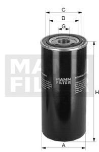 WD 940 Filtr hydrauliczny