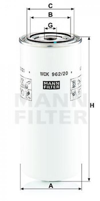 Filtr paliwa  MERLO P 40.9 PLUS