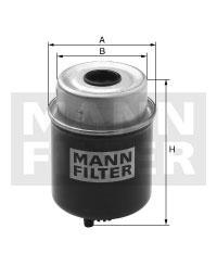 Filtr paliwa WK8121