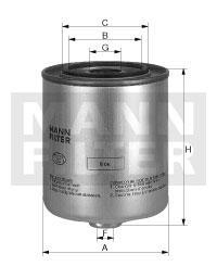 Filtr paliwa WK9042x